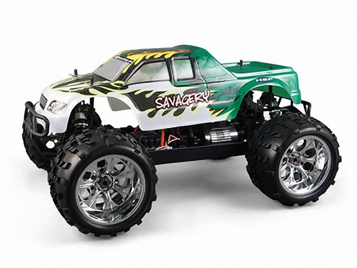 Монстр HSP Monster Truck Nokier 4WD Li-Po Battery 1:8 2.4G 94062